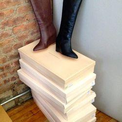 Loeffler Randall boots, <b>$90</b>