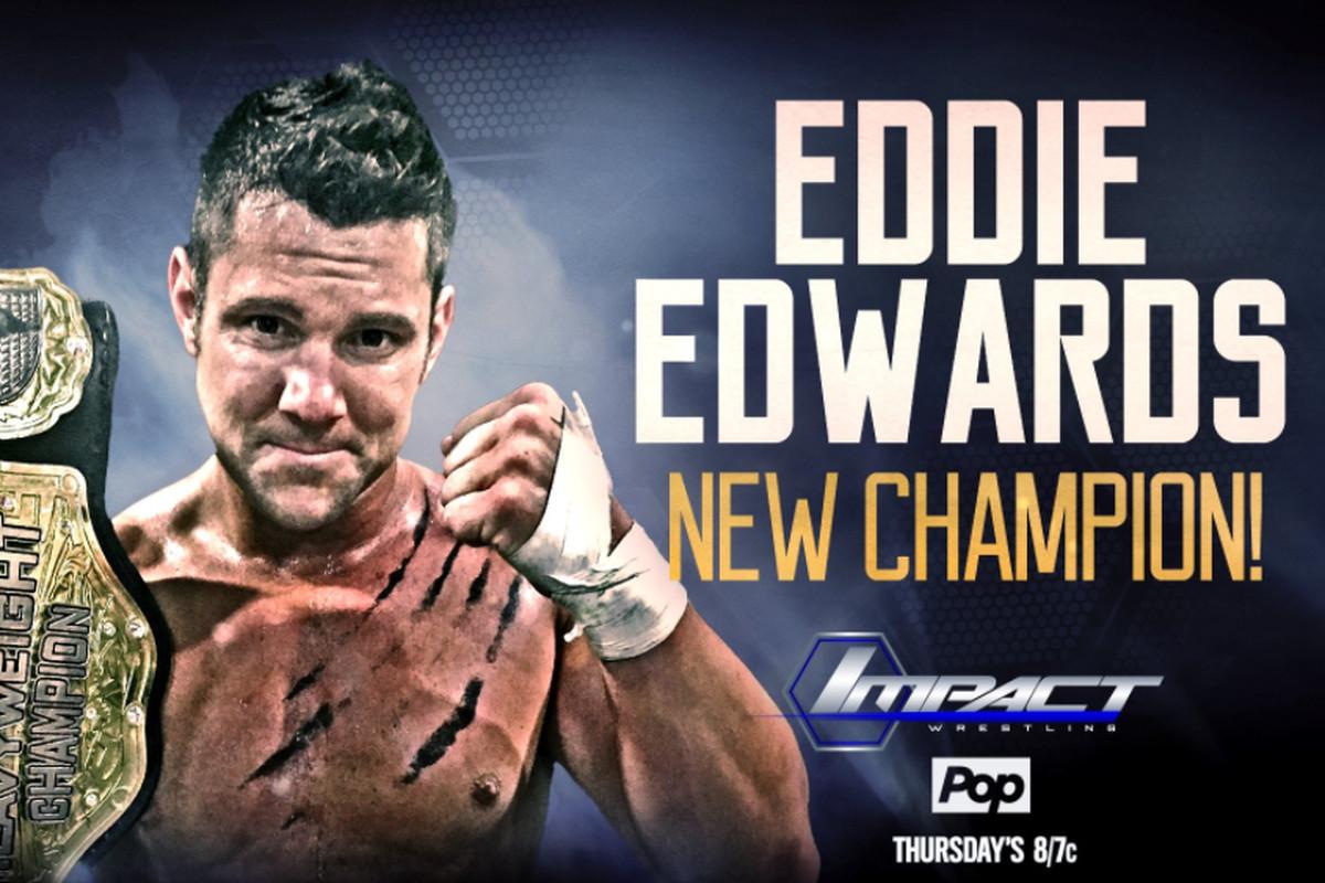 Eddie Edwards Defeats Bobby Lashley To Win Tna