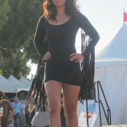 Fringed minidress by the Desert Child