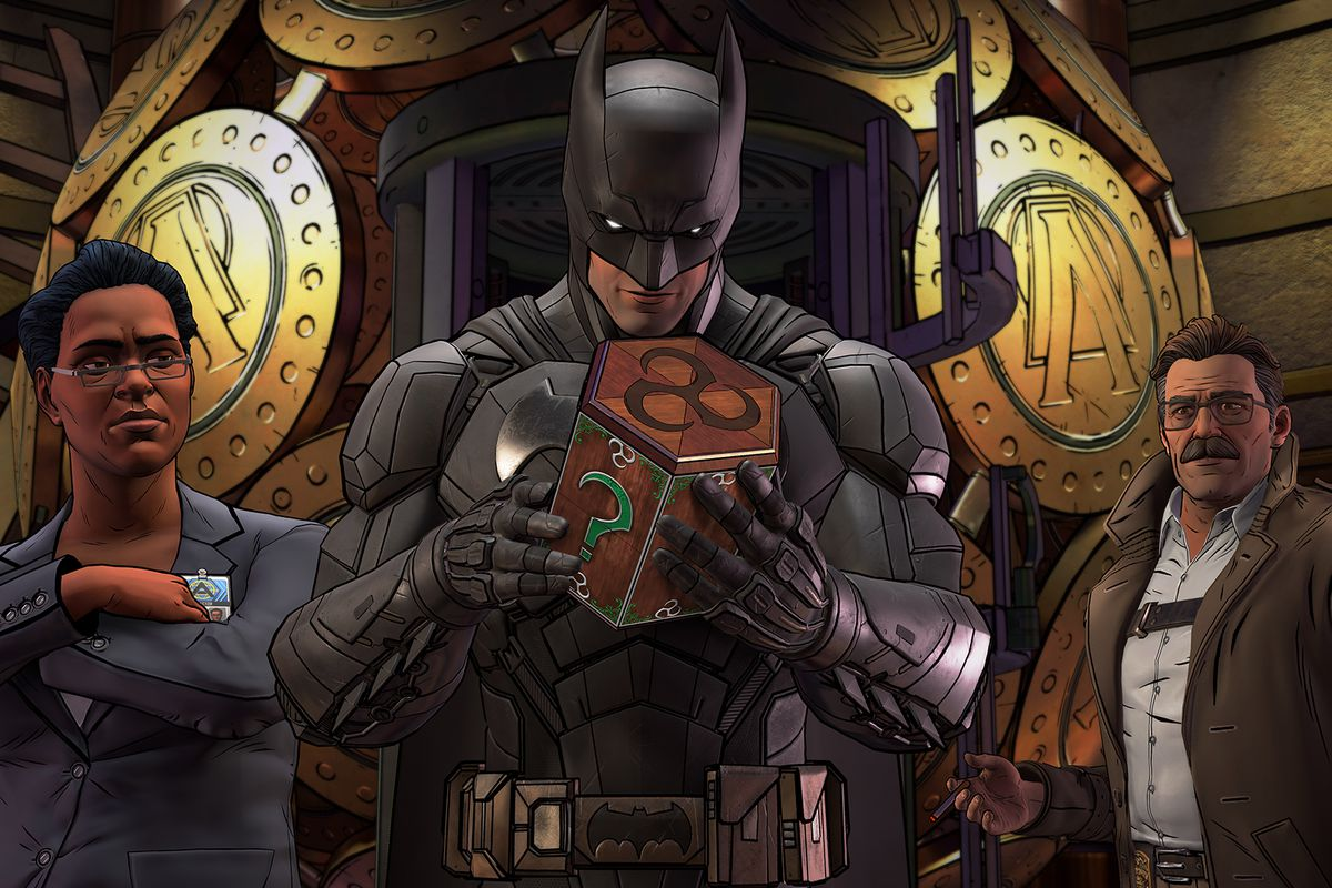 Here's the first official trailer for Telltale's Batman: The Enemy Within