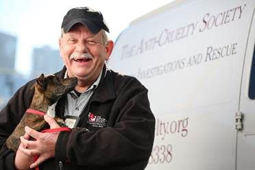 """Bill Caprio's death means """"Chicago's animal-welfare community lost one of its heroes,'' according to the Anti-Cruelty Society. 