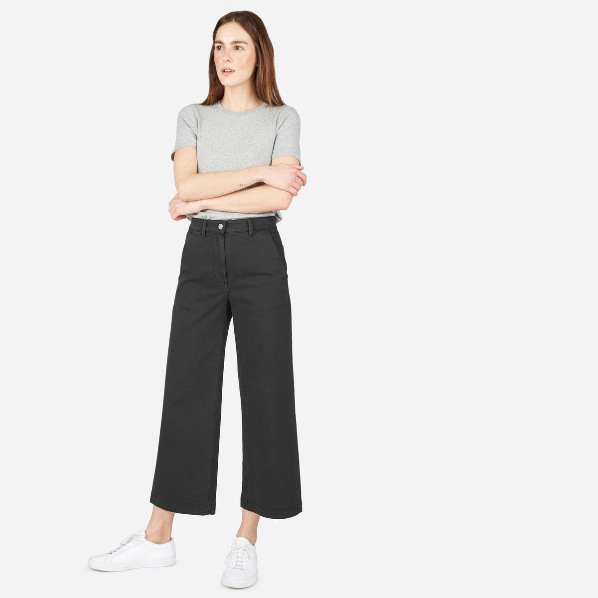 f08cb848479 Everlane Wide Leg Crop