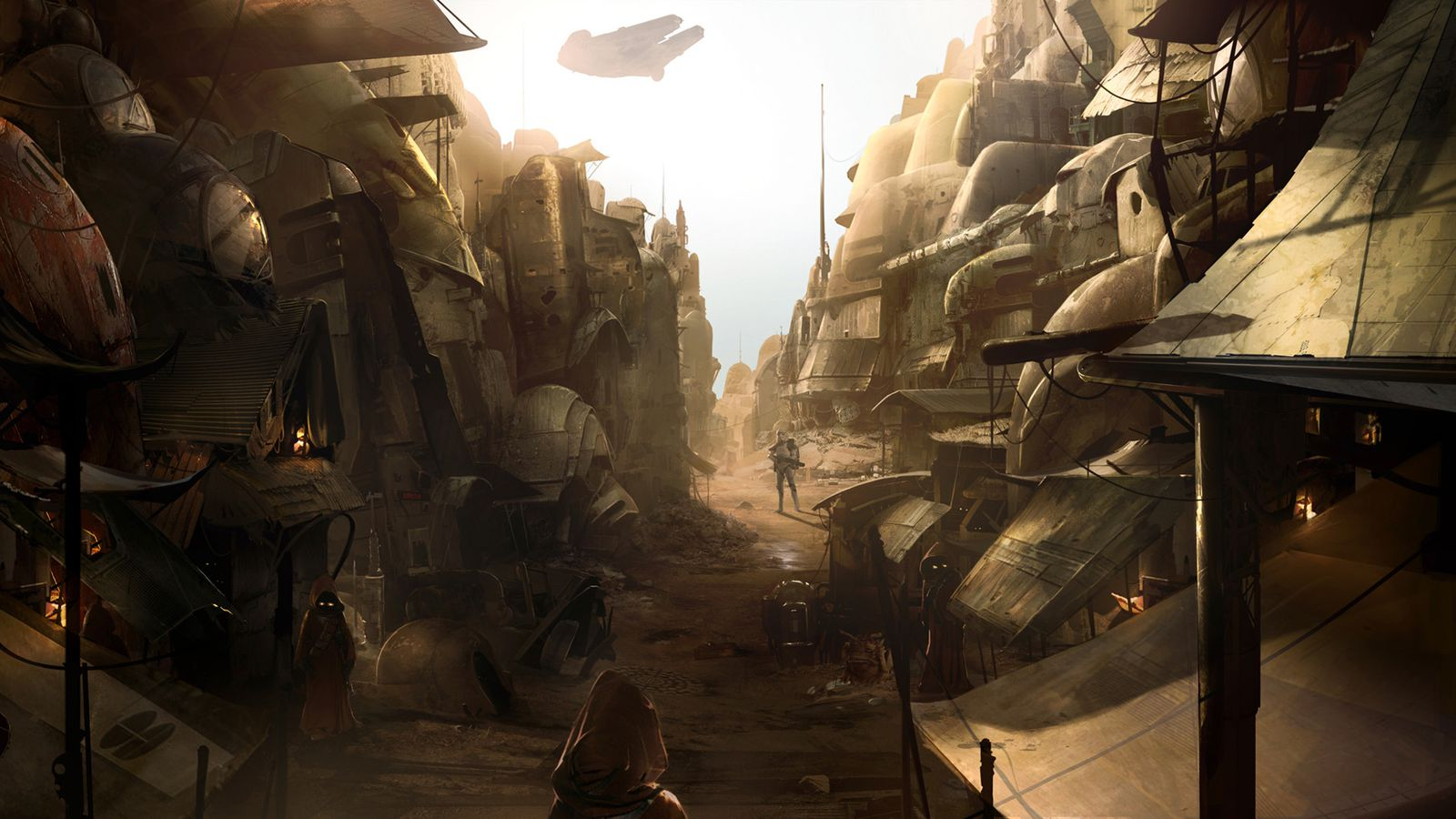 Star Wars 1313 Artwork Shows The Canceled Game S Environments Polygon