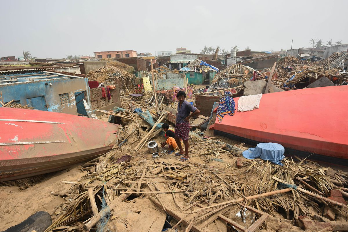 Cyclone Fani: India's biggest storm in 20 years just struck