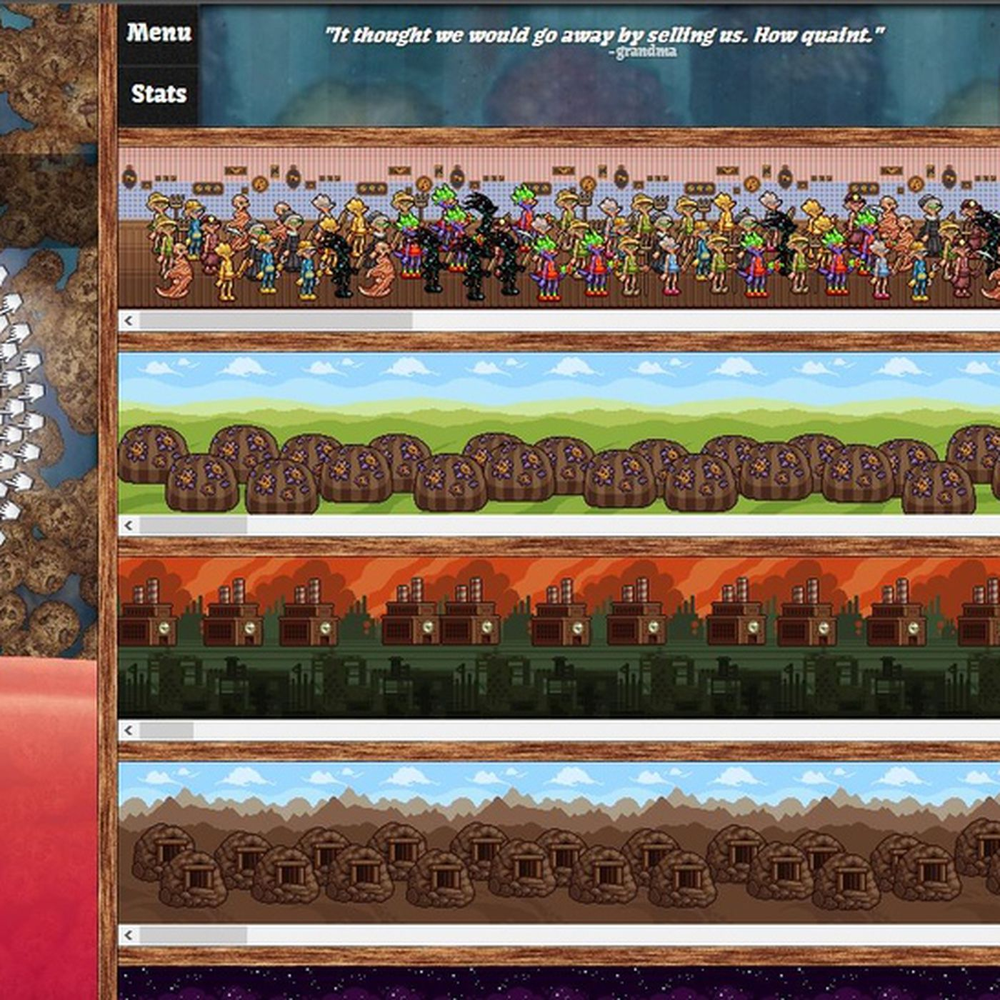 The cult of the cookie clicker: When is a game not a game