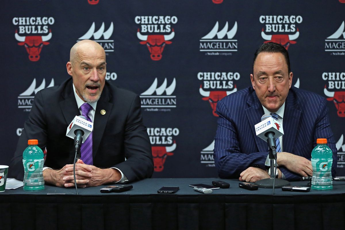 Bulls 2019 end of season press conference today sure to have the