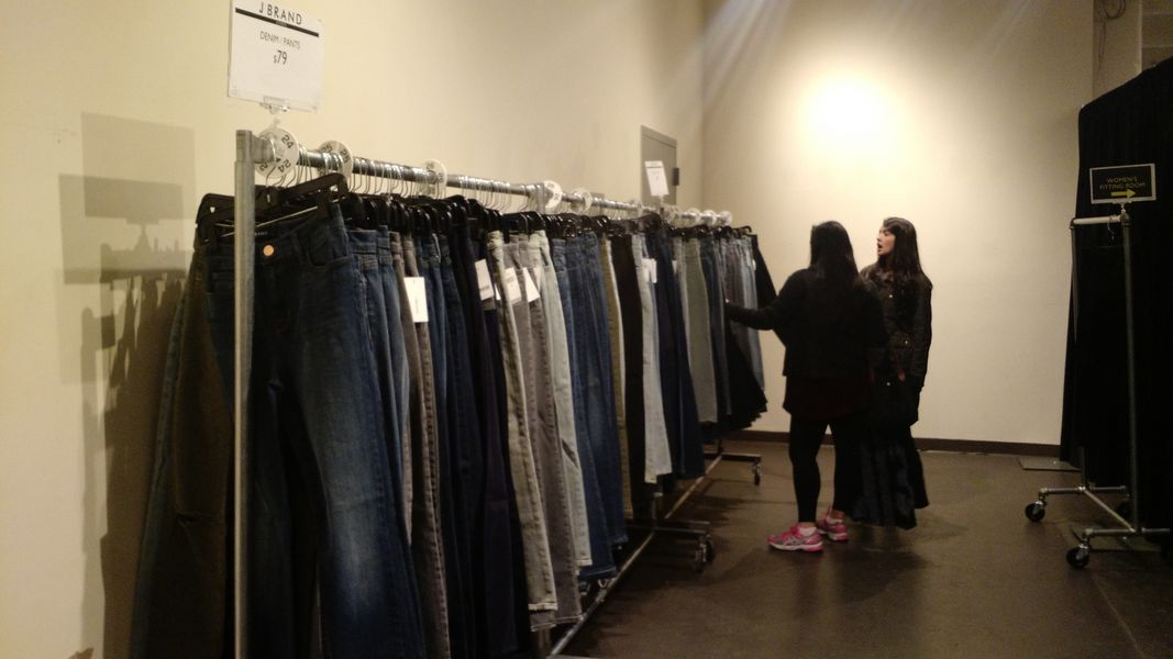 Free People Makes a Surprise Appearance at the J Brand Sample Sale ...