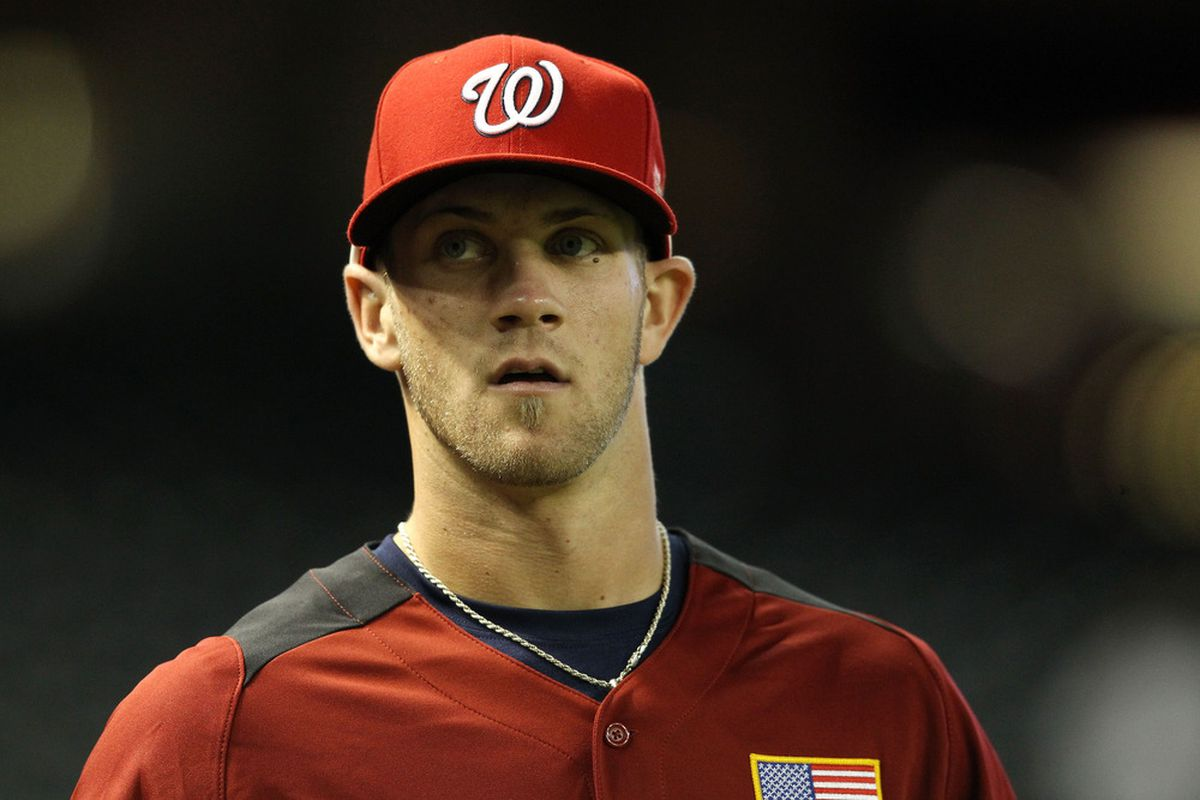 Bryce Harper is sure glad that he was drafted before this CBA was signed.