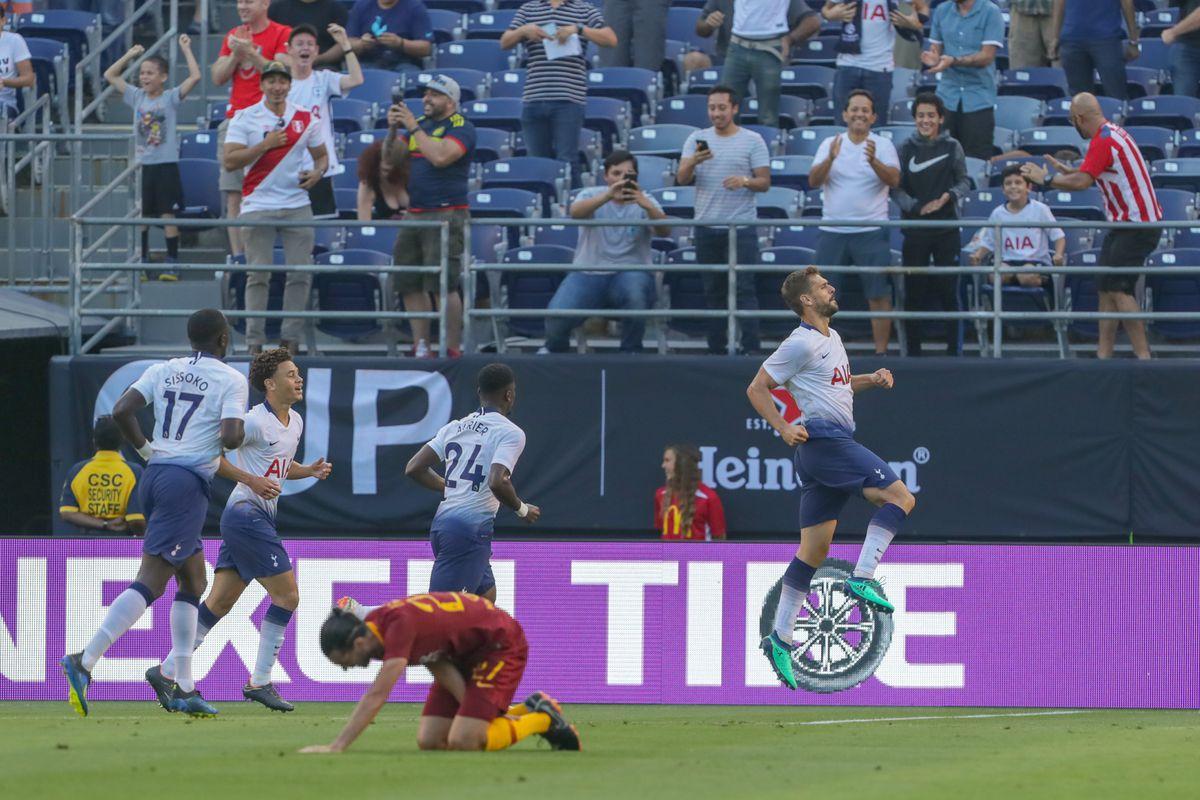 AS Roma v Tottenham Hotspur - International Champions Cup 2018