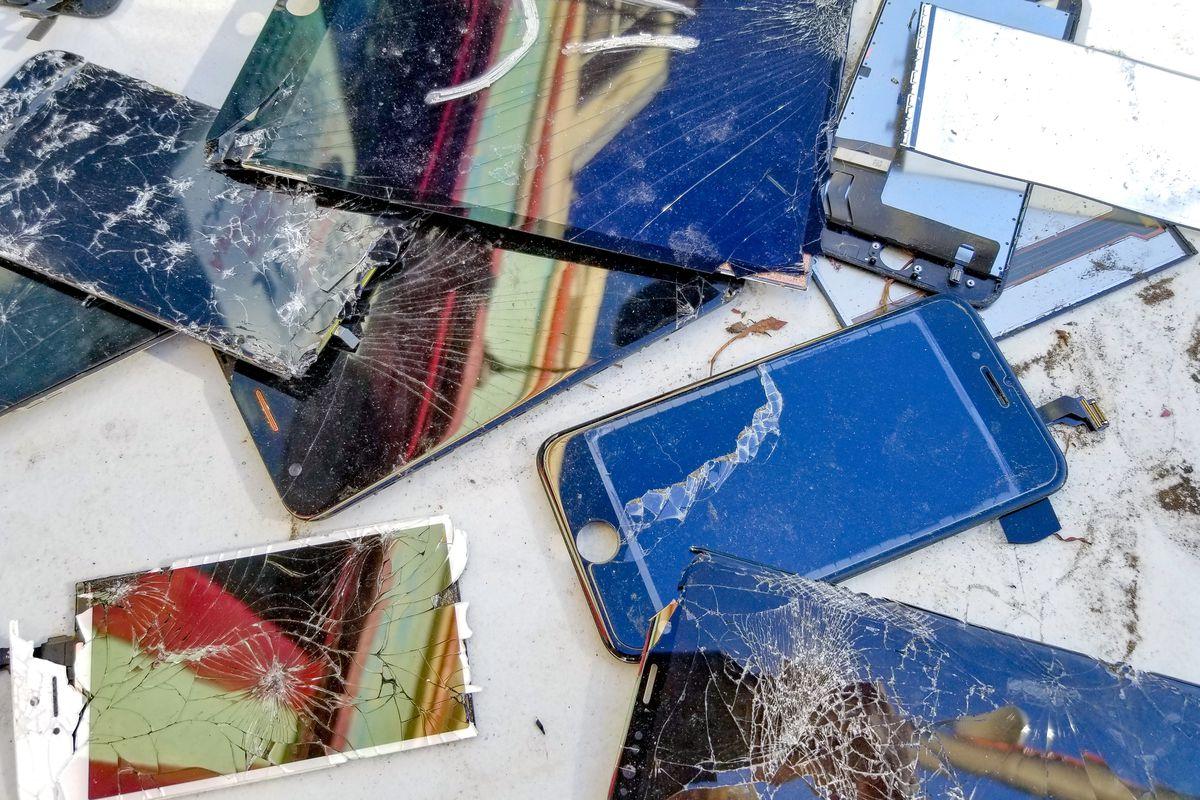 Broken Cellphones