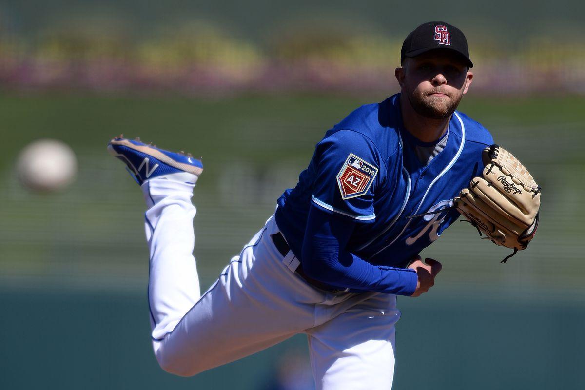 MLB: Spring Training-Los Angeles Dodgers at Kansas City Royals