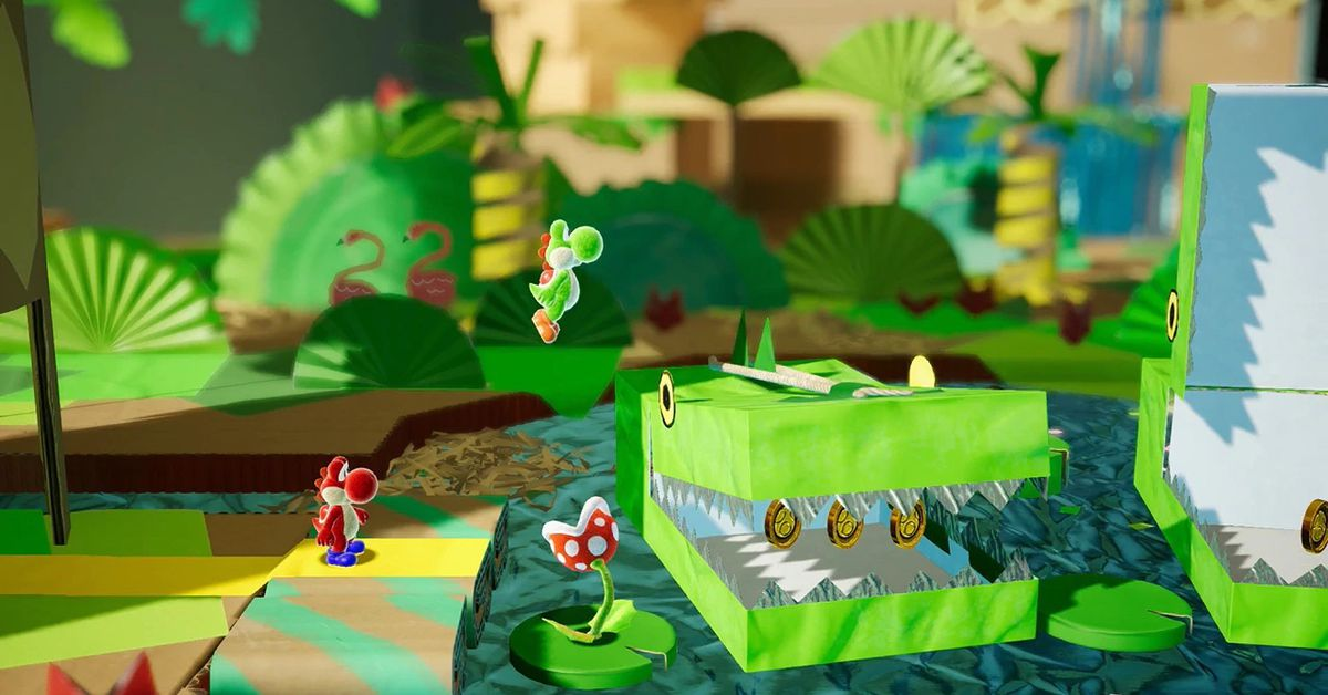 Yoshi's Crafted World buttons up spring 2019 launch