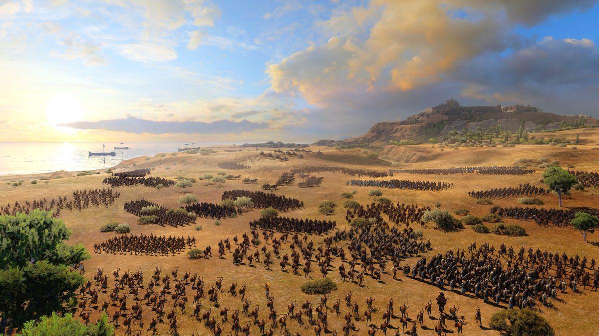 Uma Saga Total da Guerra: Tróia