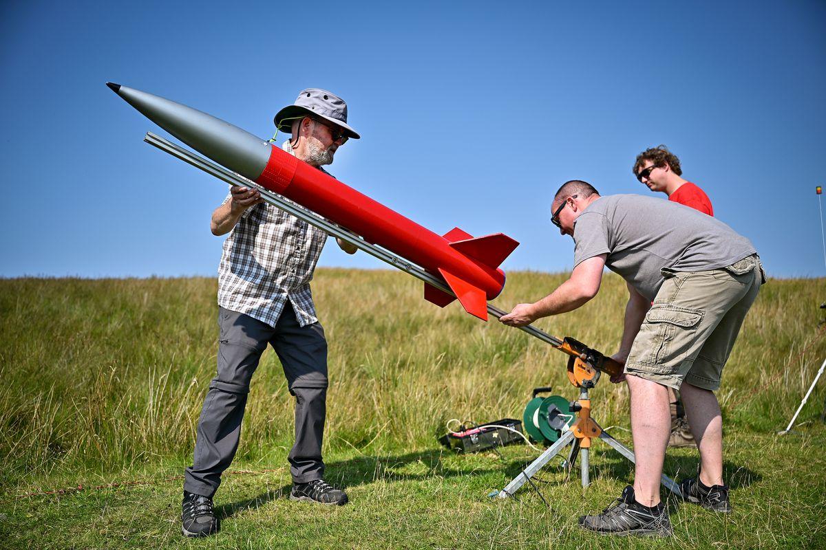 Enthusiasts Gather For International Rocket Week