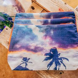Palm Tree Pouch, $80