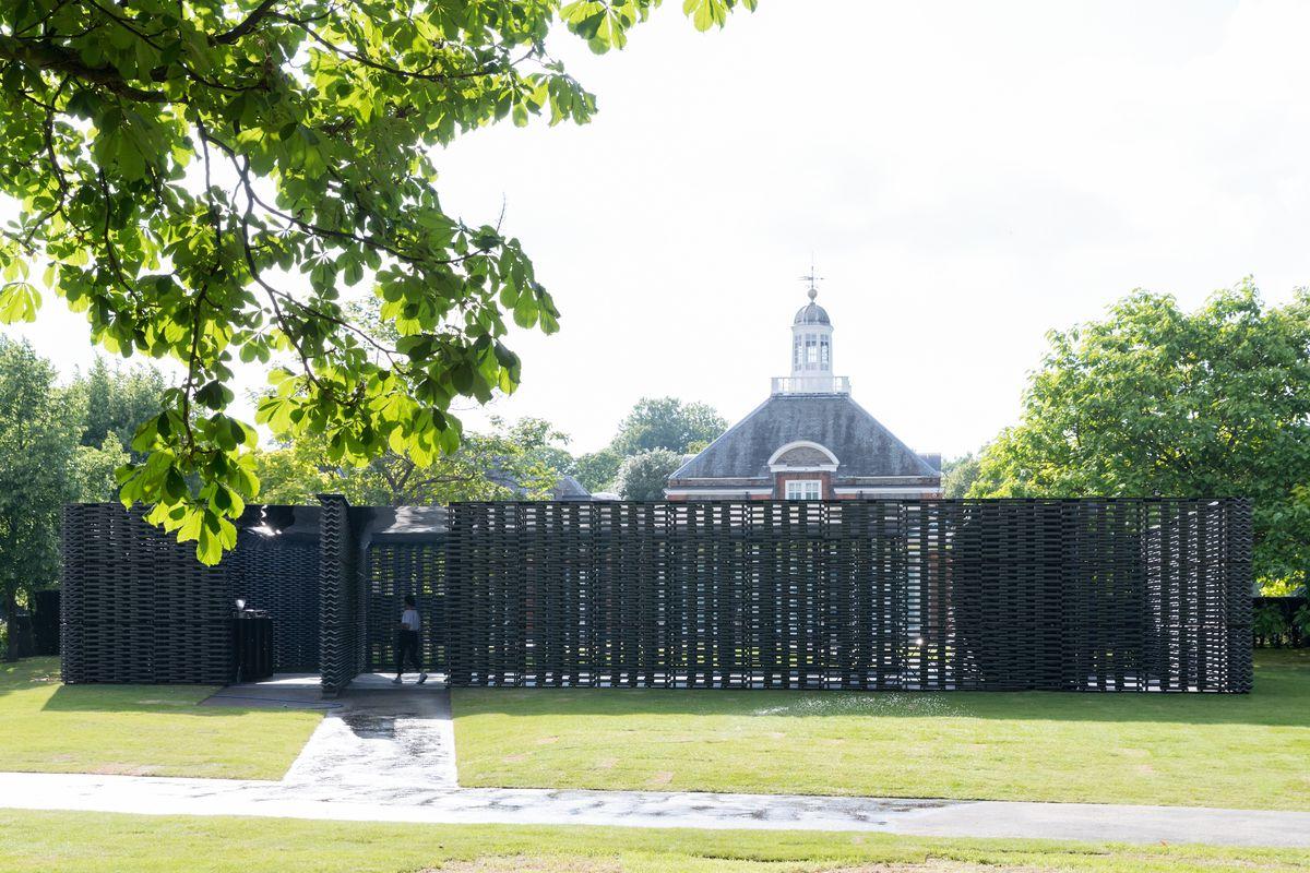 Serpentine Pavilion 2018, designed by Frida Escobedo, Serpentine Gallery, London