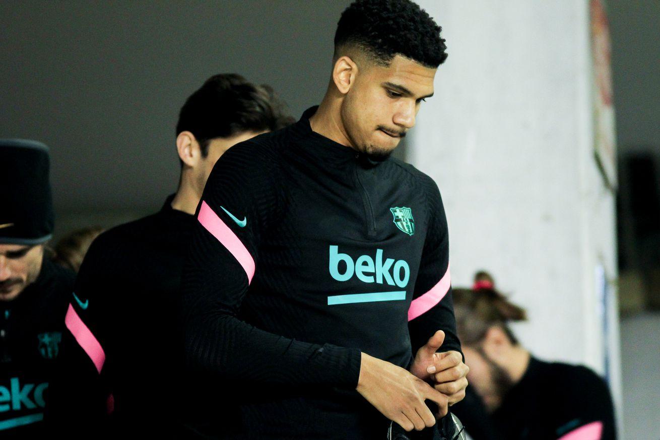Araujo passed fit for Barcelona?s trip to Sevilla