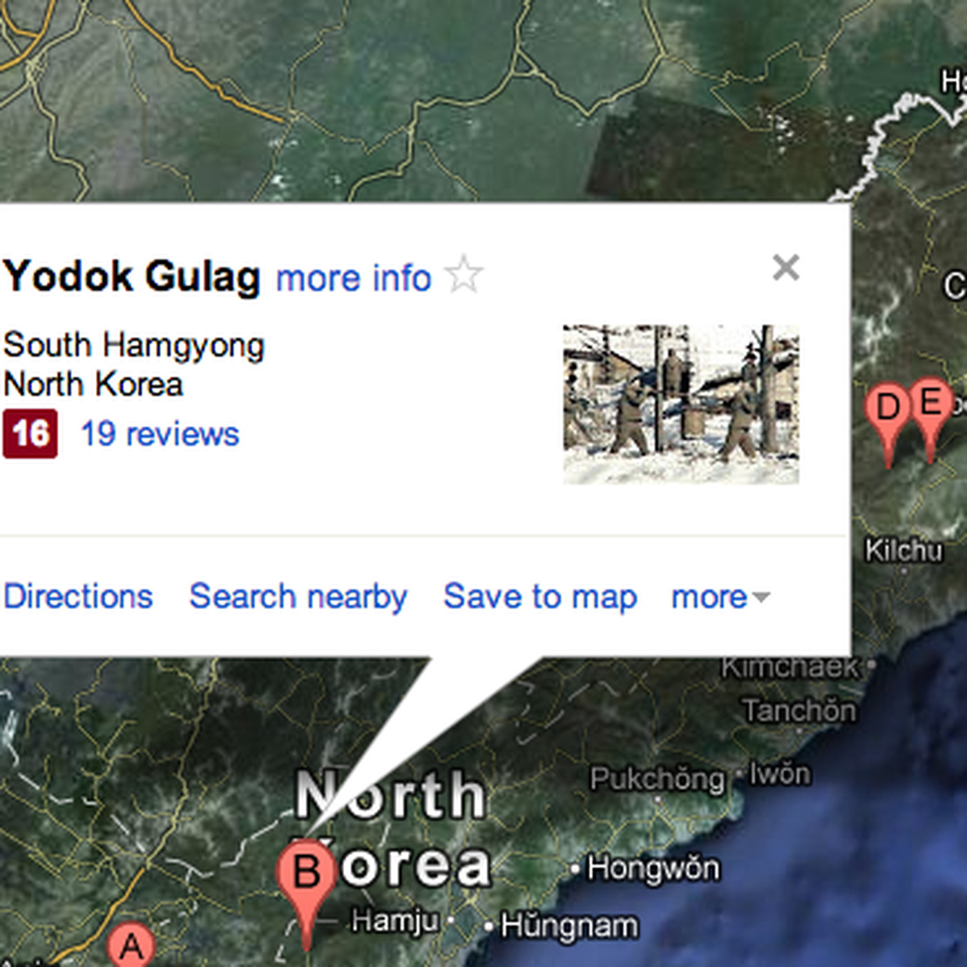 Picture of: Google Officially Names And Marks North Korean Gulags On Updated Maps The Verge