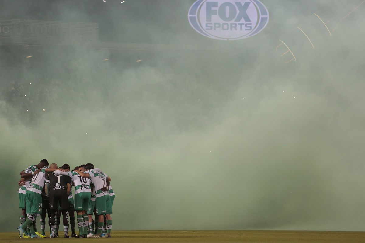 Santos Laguna v Monterrey - Playoffs Torneo Apertura 2019 Liga MX