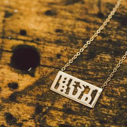 """""""Best Bud"""" necklace, <a href=""""http://www.windenjewelry.com/necklaces/best-bud-necklace"""">$185</a>"""