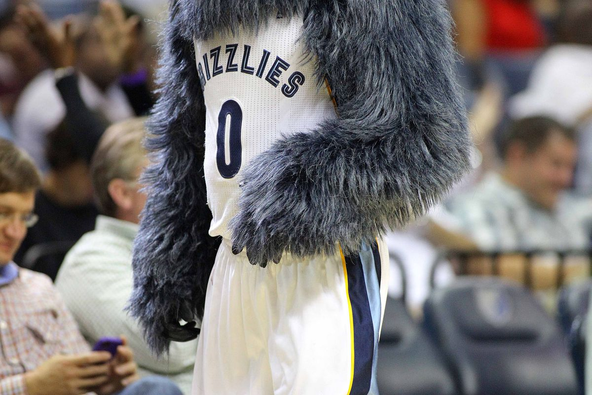 A Grizz in the headlights...
