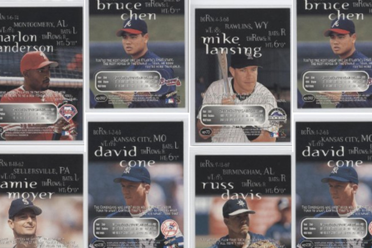 Sports Cards For Insane People Skybox Thunder When Baseball Card