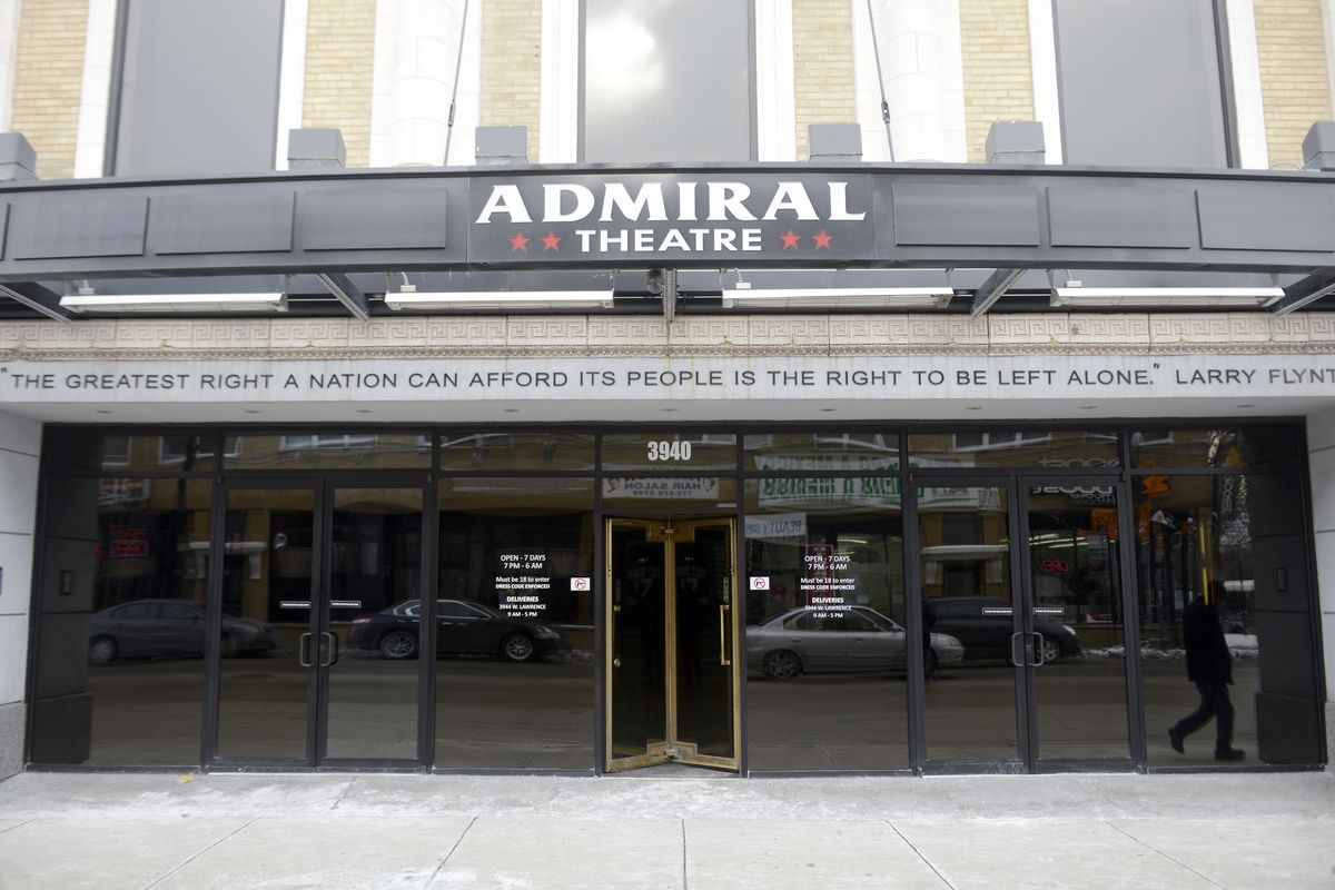 The Admiral Theatre on Lawrence Avenue