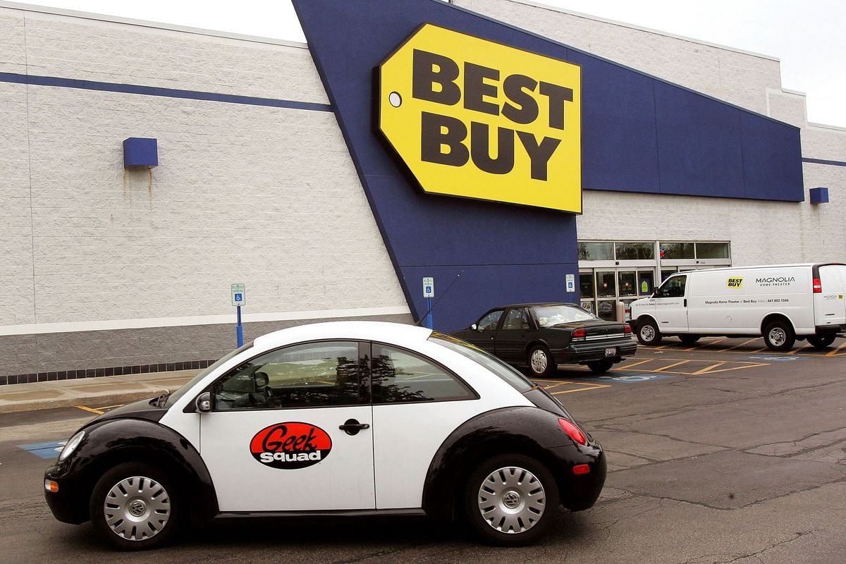 Best Buy Co Inc (BBY) Tumbles As Amazon Offers Geek Squad Competitor
