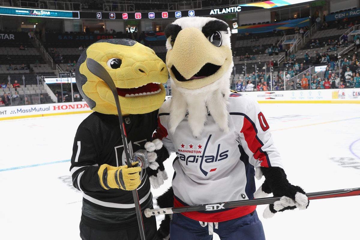 2019 NHL All-Star - Mascot Showdown