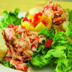 Jonathon's The Rub's Lobster Slider