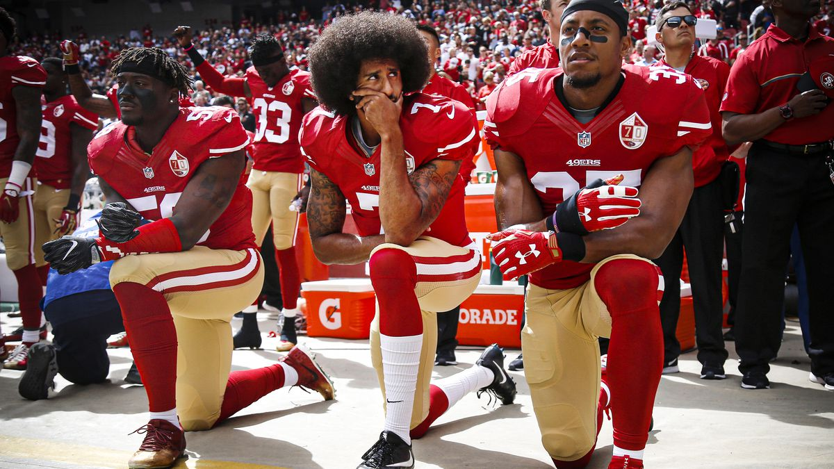 3 years after Kaepernick took a knee, the NFL is back to business ...