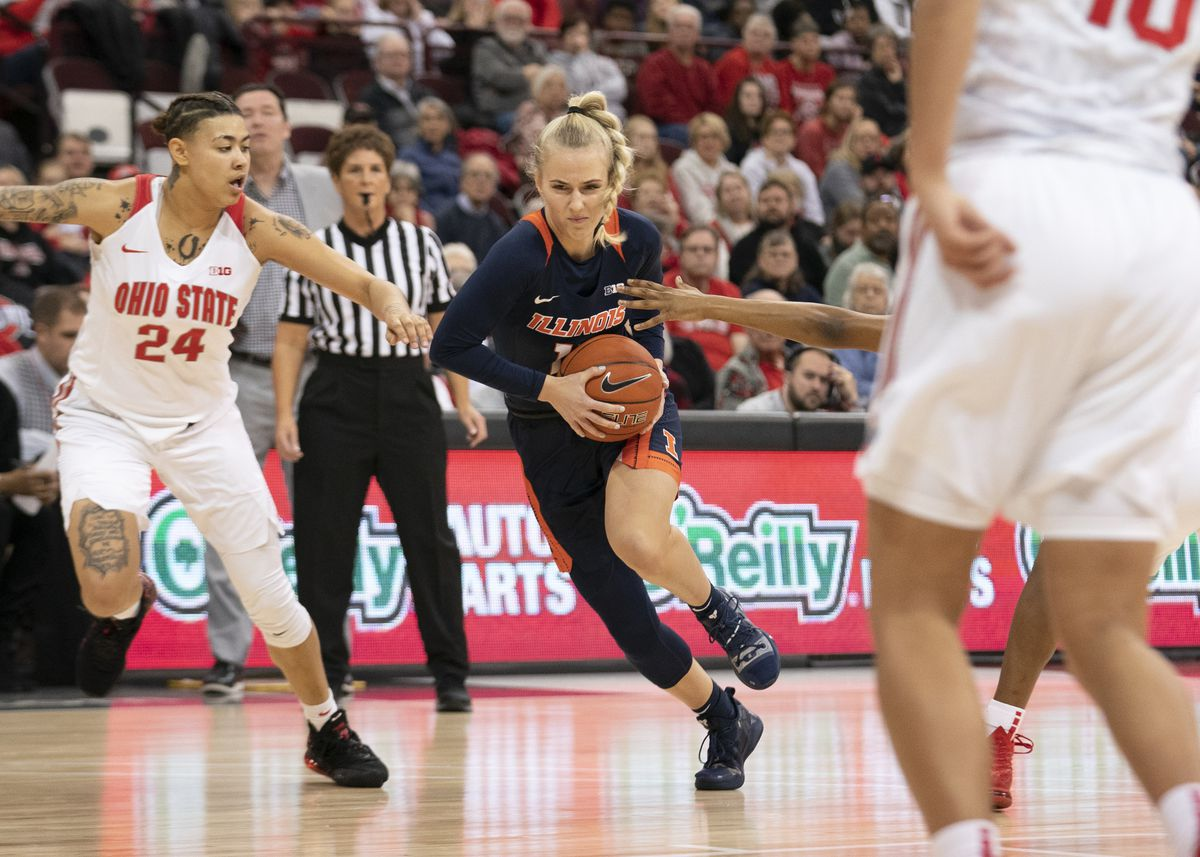 COLLEGE BASKETBALL: JAN 19 Women's Illinois at Ohio State