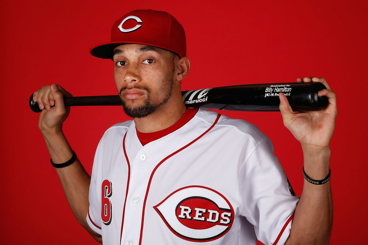 Billy Hamilton Cincinnati Reds Baseball Player Jersey