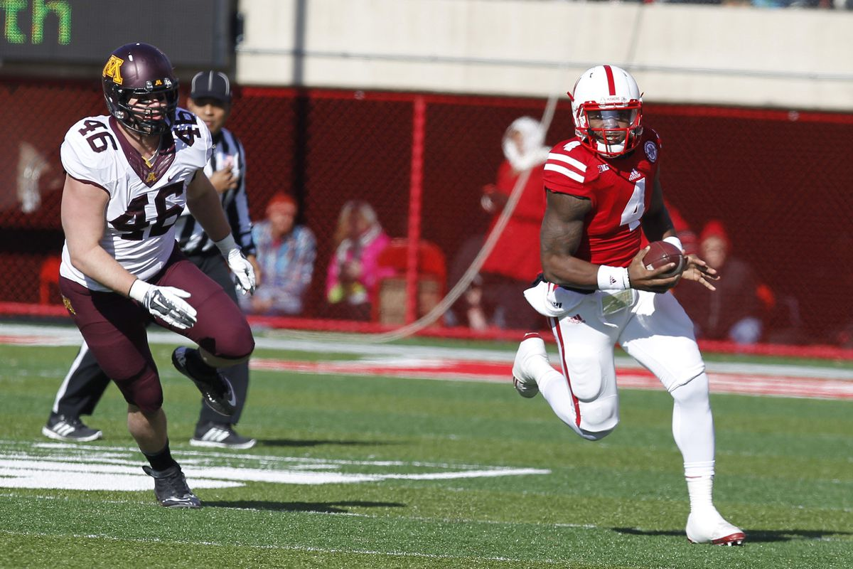 Tommy Armstrong was running from the Gophers defense a lot last fall.