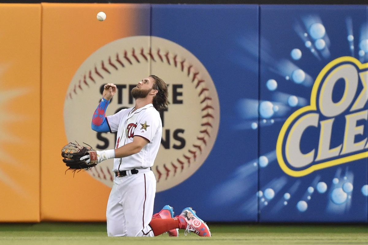5222c1b5c0d 2017 MLB All-Star Game  Nationals  All-Stars rep D.C. in NL s 2-1 loss to  the AL... Bryce Harper ...