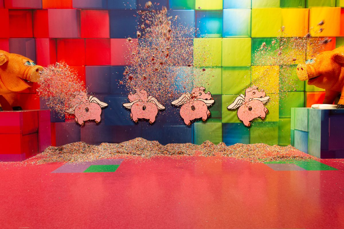 Inside the Mall of America's New Candytopia Exhibit - Eater Twin Cities