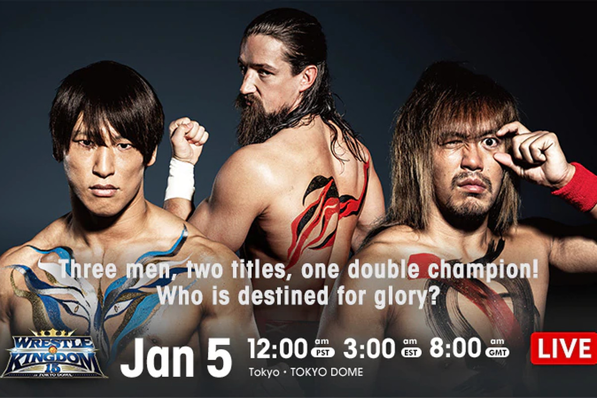 Poster for night two of NJPW Wrestle Kingdom 15