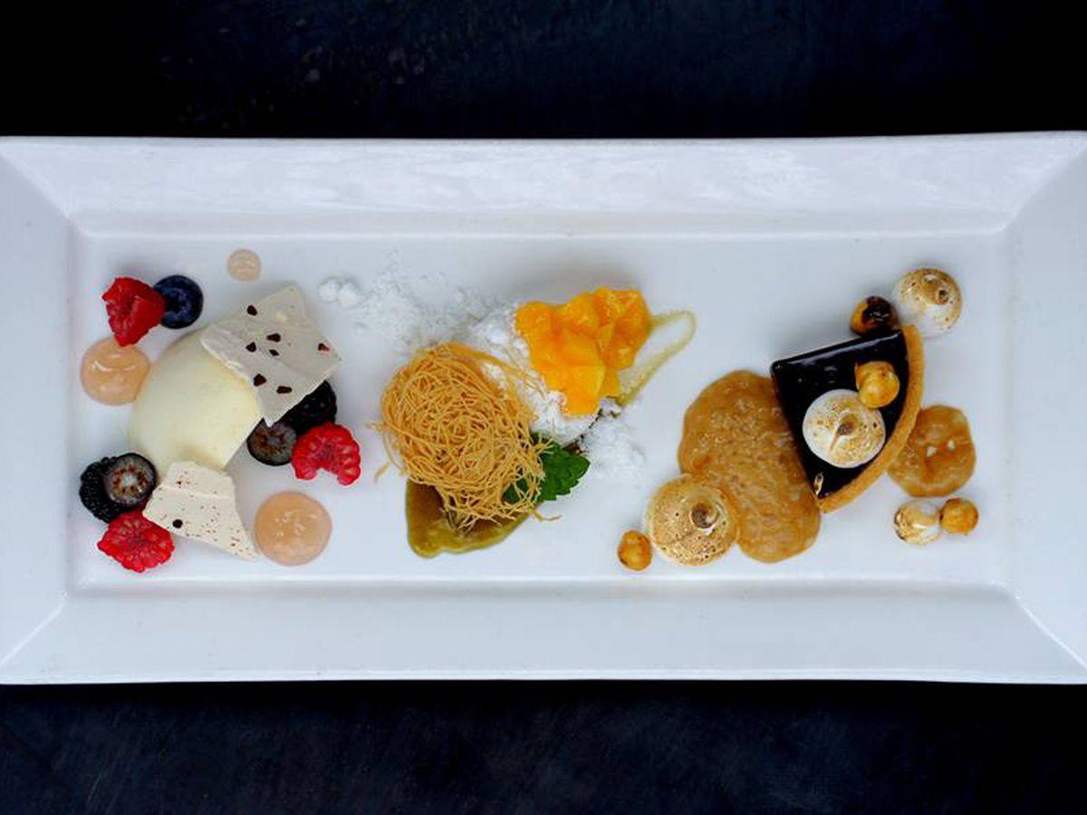 Desserts at Vesta Dipping Grill