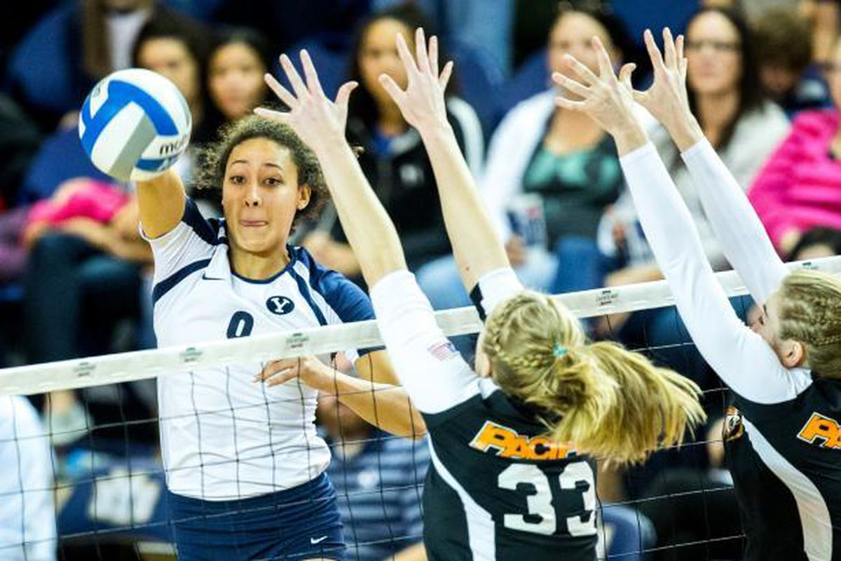 Alexa Gray leads BYU past Pacific