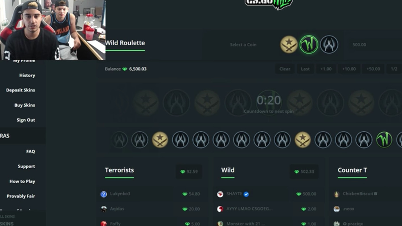 csgowild betting 2021