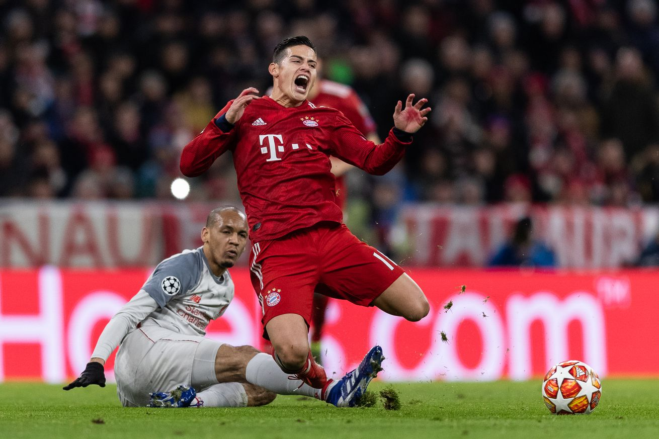Report: Real Madrid will put a price tag of ?at least ?50m? on James Rodriguez