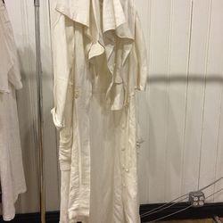 Nicholas K cotton trench, $250