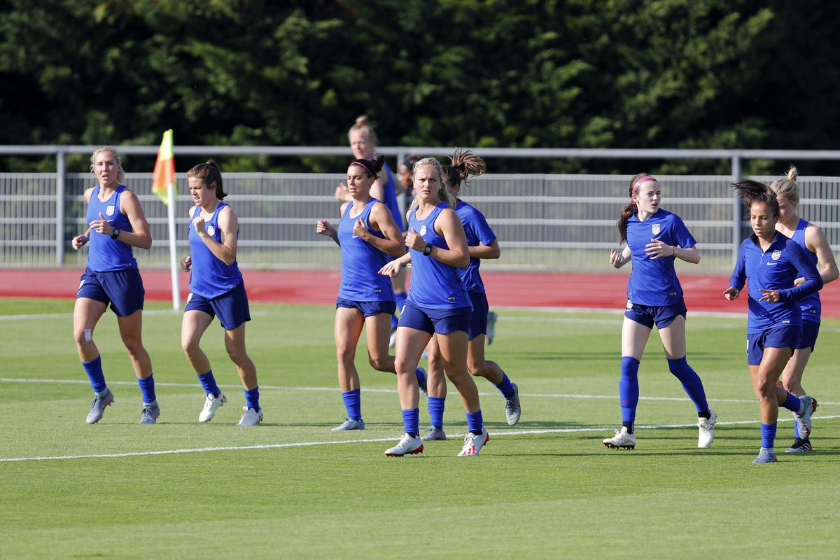 Soccer: Womens World Cup-USA Training Session