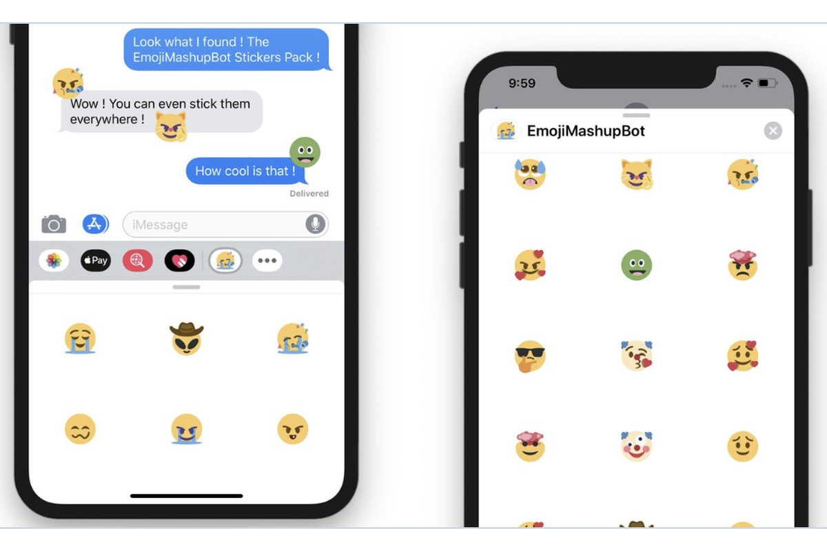 The Twitter Emoji Mashup Bot is now available as free