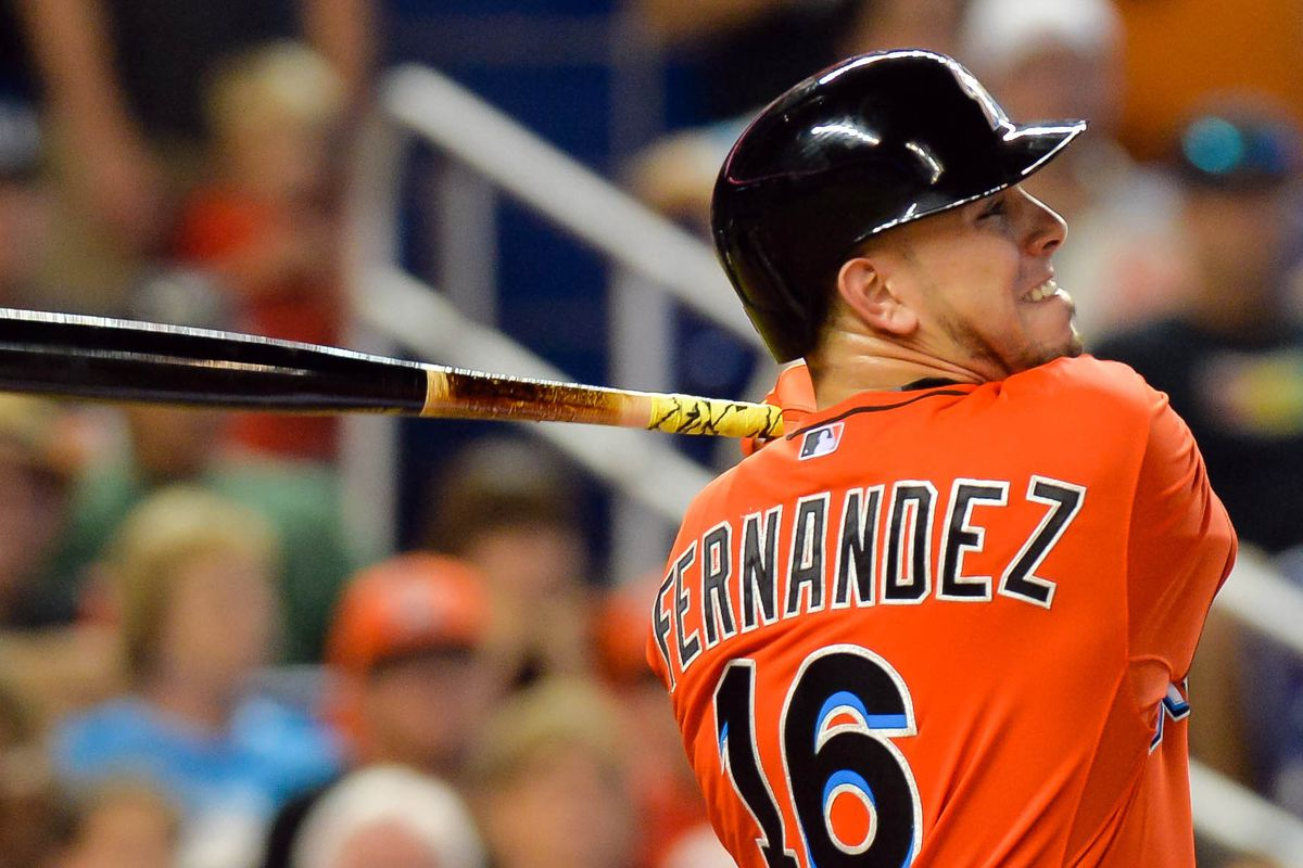 Jose Fernandez came back from TJ stronger than ever at the plate