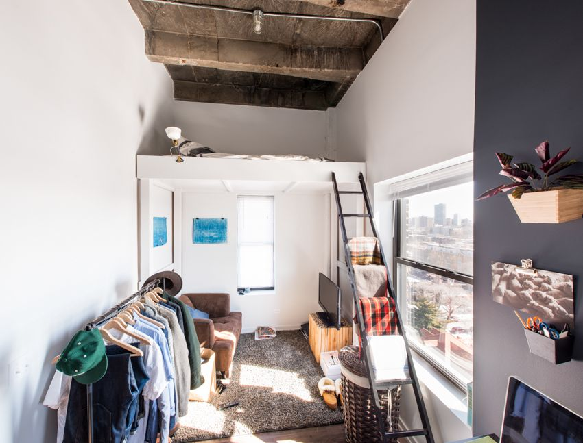What It S Really Like To Live In A 300 Square Foot Micro Studio Curbed Chicago