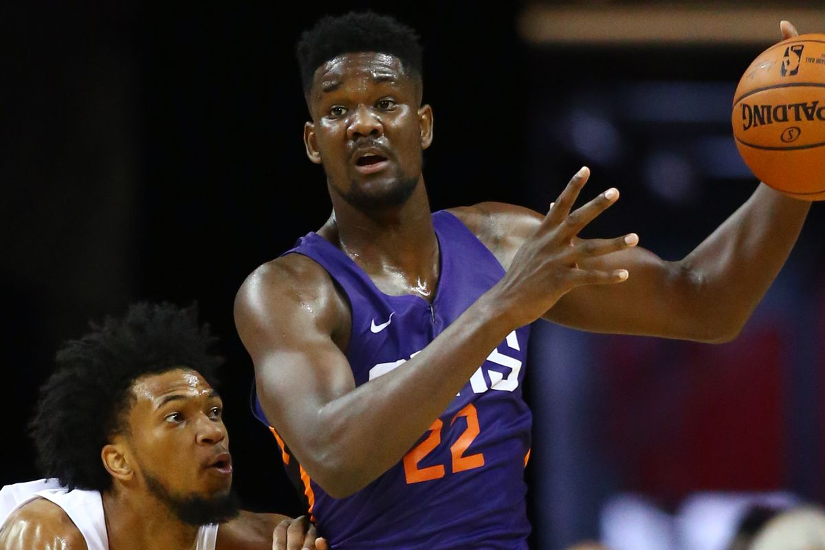Image result for deandre ayton 2018 suns