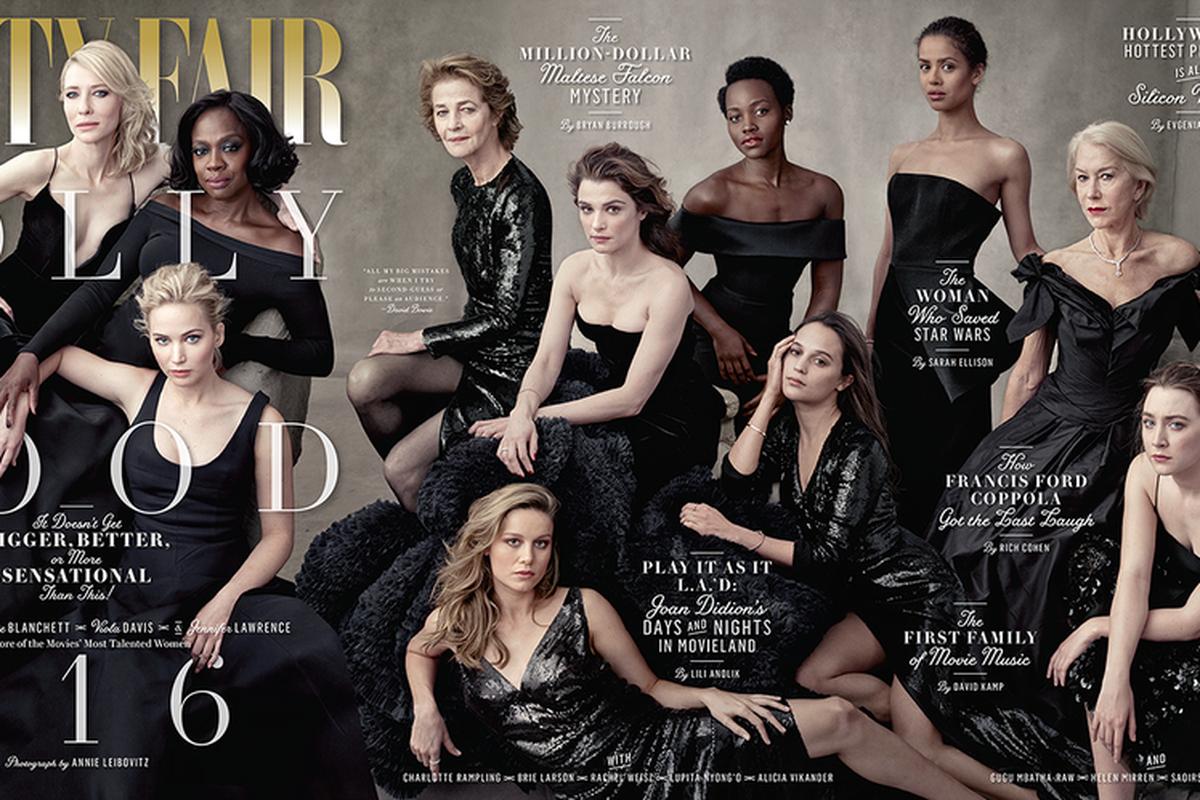 Vanity Fair's Hollywood Issue.