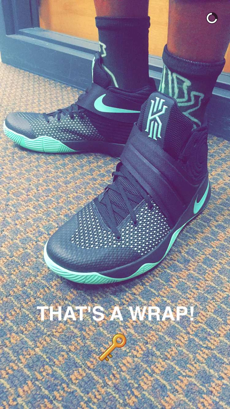new arrival 92d74 c6c65 Kyrie Irving debuts new Kyrie 2 colorway on Snapchat - Fear ...