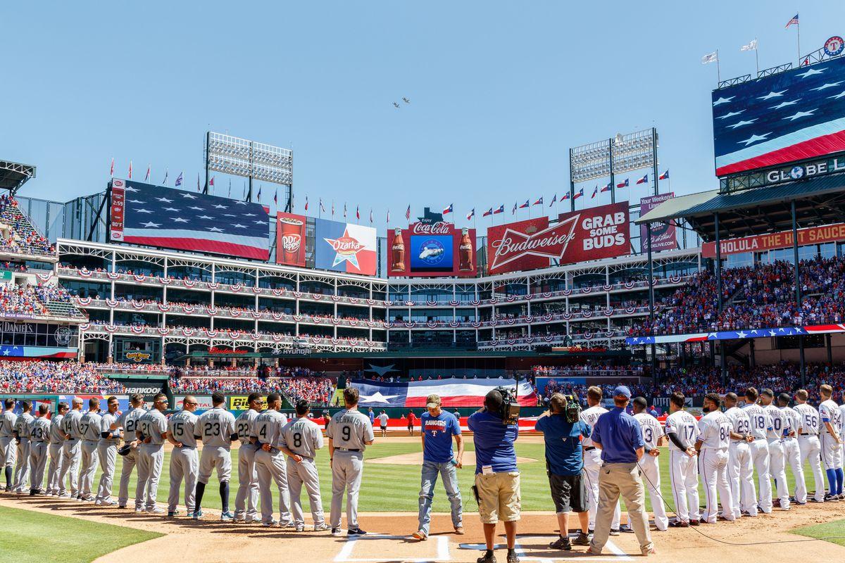 MLB: APR 04 Mariners at Rangers